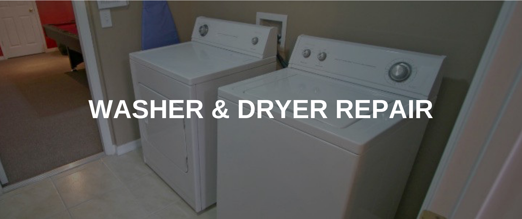 washing machine repair seattle